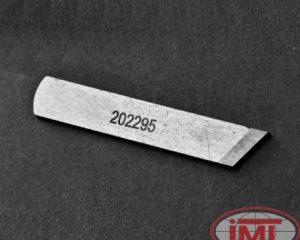 202295 Pegasus нижний нож обрезки ткани