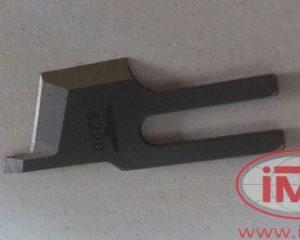 B4121-522-000 JUKI нижний нож обрезки края (плоский)