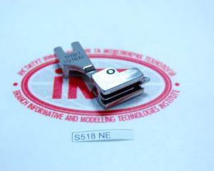 S518NE Лапка для вшивания потайной молнии с узким носиком