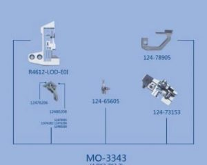 MO-3343(4.8×2.2×3.2) JUKI сменный комплект