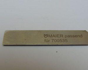 96-700 535-05 PFAFF нож маузера