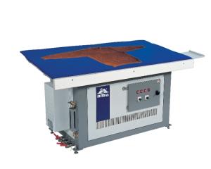 E05 ALBA гладильный стол для трикотажных изделий со встроенным парогенератором