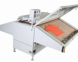 Е02-1 ALBA гладильный пресс для вязанных изделий с конвейерной транспортировкой