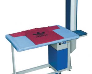 B07 ALBA прямоугольный стол с усиленным вакуум отсосом