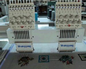 2 головки вышивальная машина